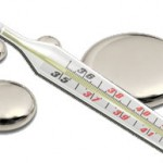 A broken Mercury-laden Thermometer - A bad idea!