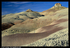 Bentonite Hills - Click for larger view