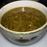 Finished Soup