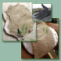 Using Healing Clay Externally